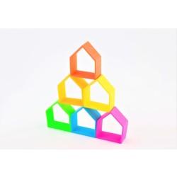 Kit de juguetes de silicona 6 casas