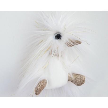 Pato de peluche blanco 22 cm (Moonlight)