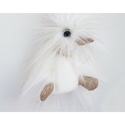 Pato de peluche blanco 30 cm (Moonlight)