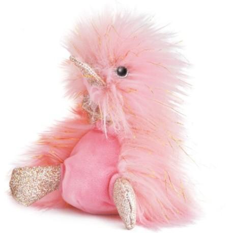 Pato de peluche rosa 22 cm (Comete)