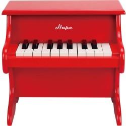 Piano divertido rojo