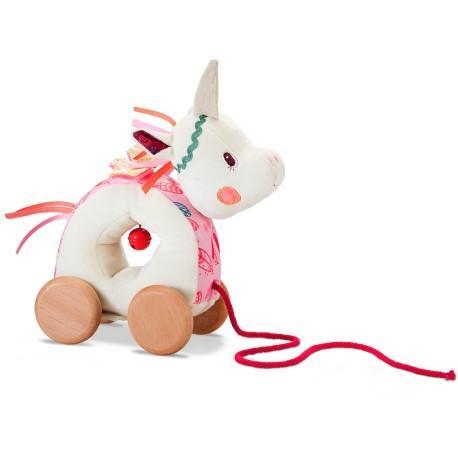 Muñeco de arrastre de la unicornio Louise