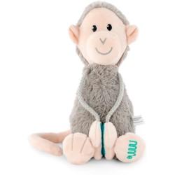 Mono gris de felpa mediano Matchstick Monkey