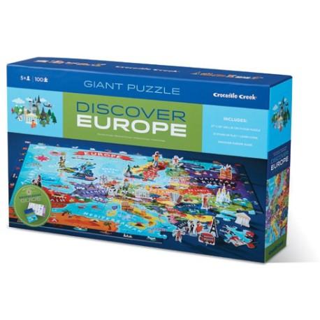 Puzle de 100 piezas descubre Europa