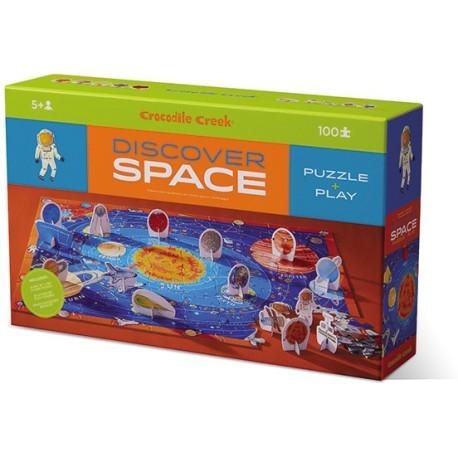 Puzle de 100 piezas descubre el espacio