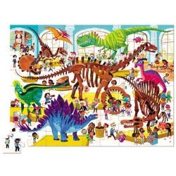 Puzle de 72 piezas del museo de los dinosaurios