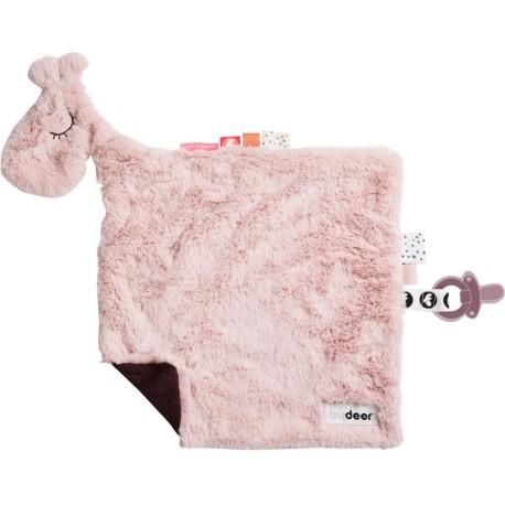 Manta de confort Raffi rosa