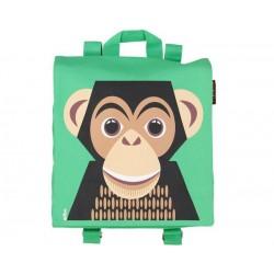 Mochila verde Chimpancé