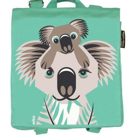Mochila verde claro Koala