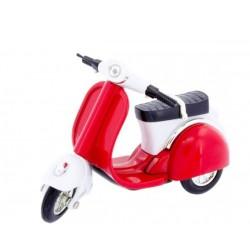 Motocicleta Scooter roja