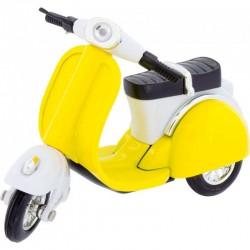 Motocicleta Scooter amarilla