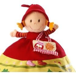 Marioneta reversible Caperucita Roja (Reversible red riding hood puppet)