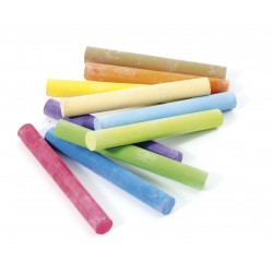 10 tizas de colores