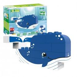 Bloques de construcción eco-friendlies ballena del ártico (12 piezas)