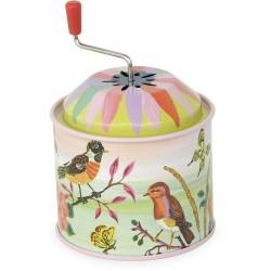 Caja de música pájaros