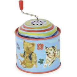 Caja de música gatito