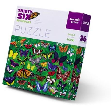 Puzle en caja 300 piezas - Mariposas