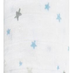 """Muselina de algodón """"night sky"""" estrellas"""