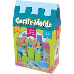 Moldes para hacer castillos con arena Kinetic Sand