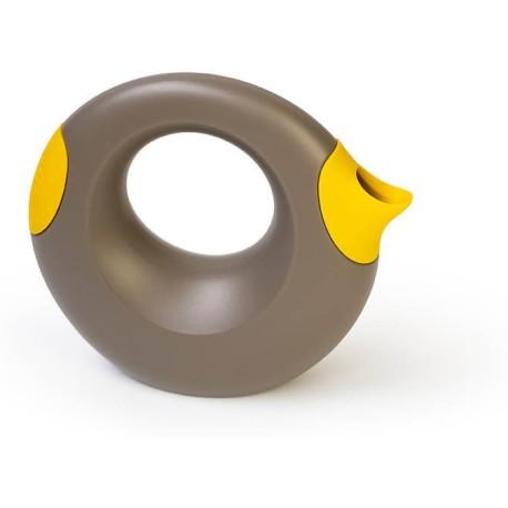 Regadera grande gris y amarillo Cana