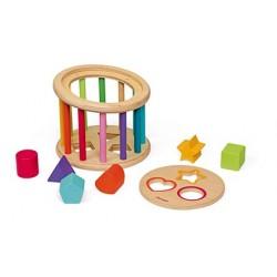 Caja de formas de madera