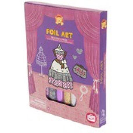 Foil Art Princess Gowns