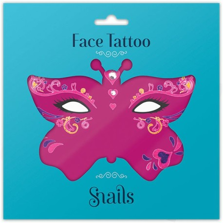 Tatuajes para la cara - Reina de corazones