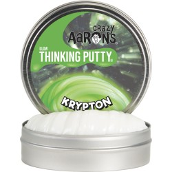 Lata de plastilina de 10 cm - Glows - Krypton