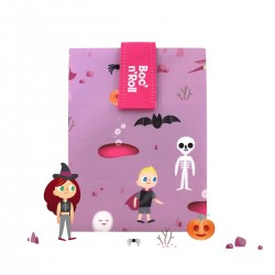 Porta bocadillos Boc'n'Roll Kids Fantasy (rosa)