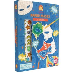 Pack de máscaras de papel superhéroes