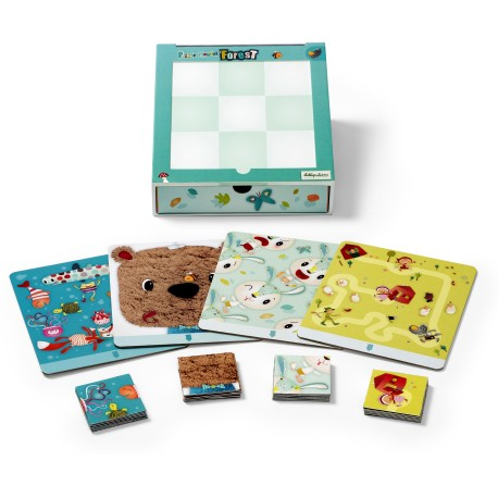 Puzle magnético del bosque (Smart Wonders) (Magnetic puzzle forest SW)