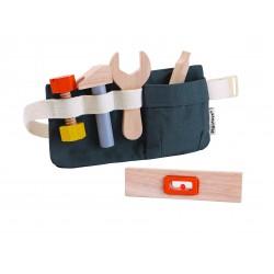 Cinturón de herramientas de madera