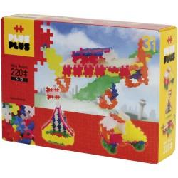 """Puzle 3D de 220 piezas neón """"3 en 1"""""""