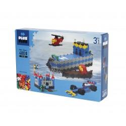 """Puzle 3D de 480 piezas """"3 en 1"""""""