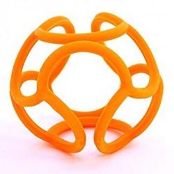 Mordedor bolli de silicona naranja