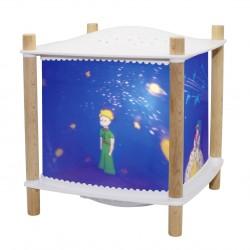 """Lamparita y proyector de estrellas con música y bluetooth """"Le Petit Prince"""""""
