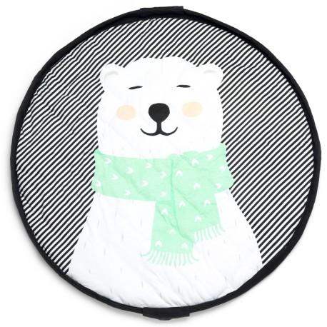 Manta de juegos 3 en 1 Play & Go Soft Oso Polar