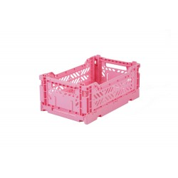 Caja plegable Mini - Rosa baby