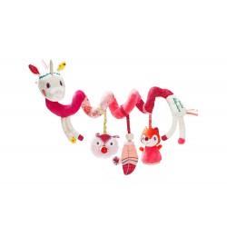 Cadena espiral de actividades de la unicornia Louise